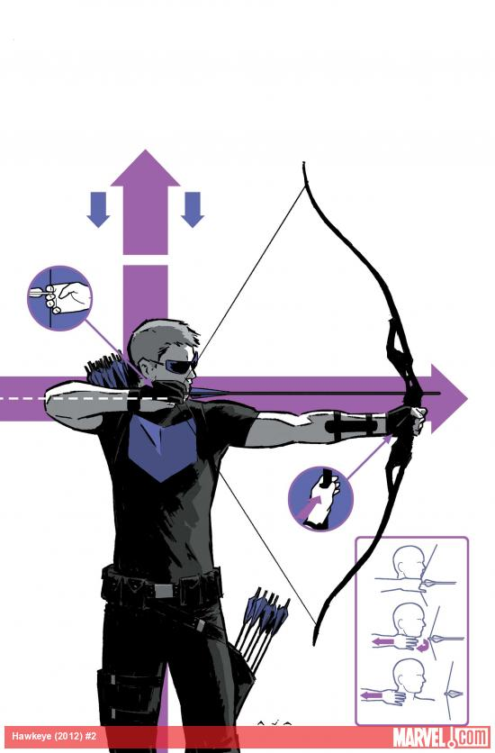 Hawkeye #2 Cover