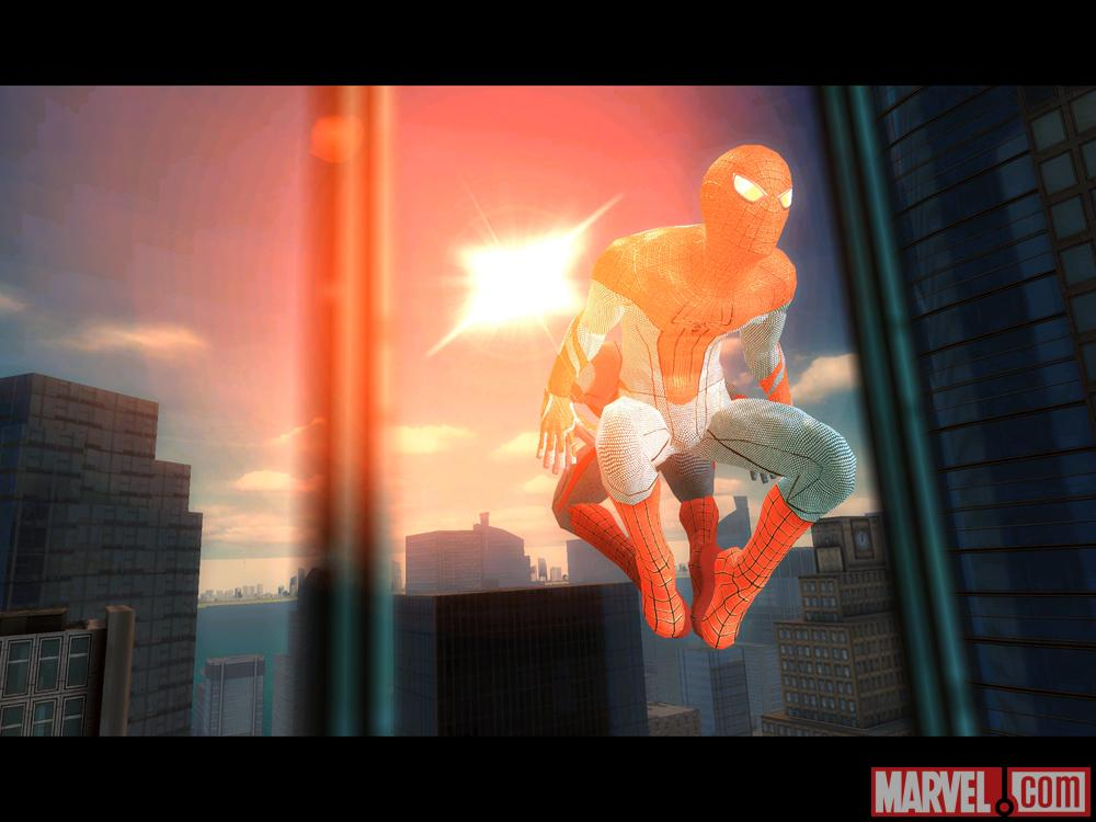 Screenshot of Spidey from The Amazing Spider-Man Game for Android and IOS