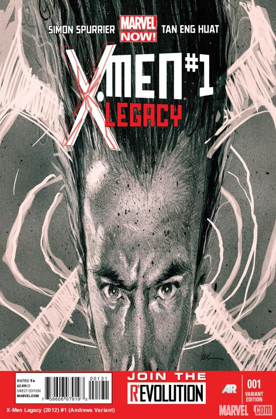 X-MEN LEGACY 1 ANDREWS VARIANT