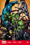 NEW AVENGERS 22 (ANMN, WITH DIGITAL CODE)