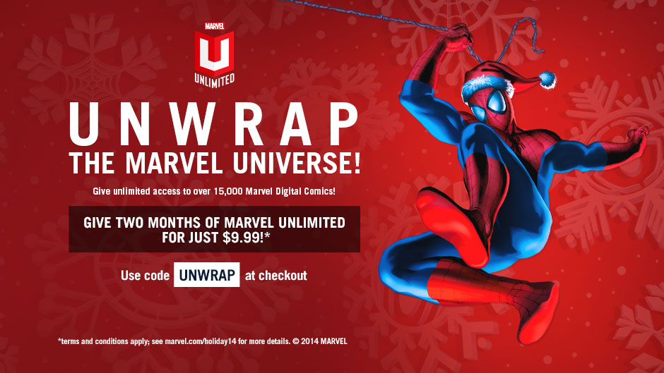 Unwrap Two Months of Marvel Unlimited