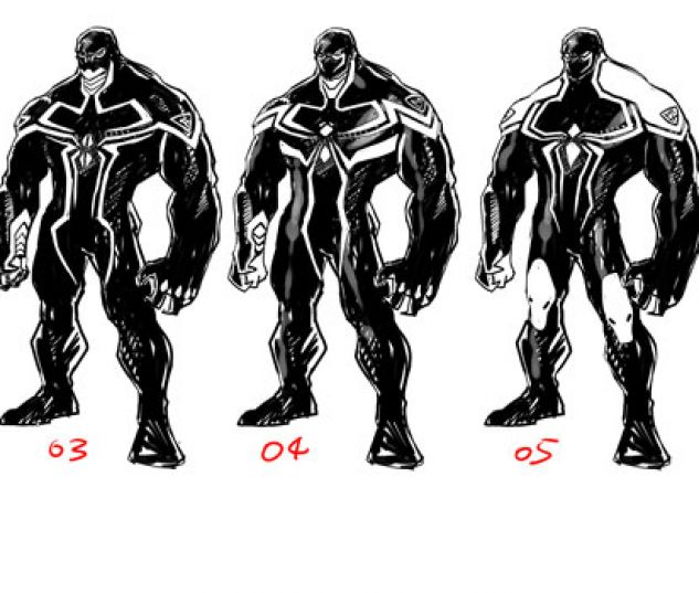 Iron Man Venom Suit An exclusive look at venom's all-new costume news ...