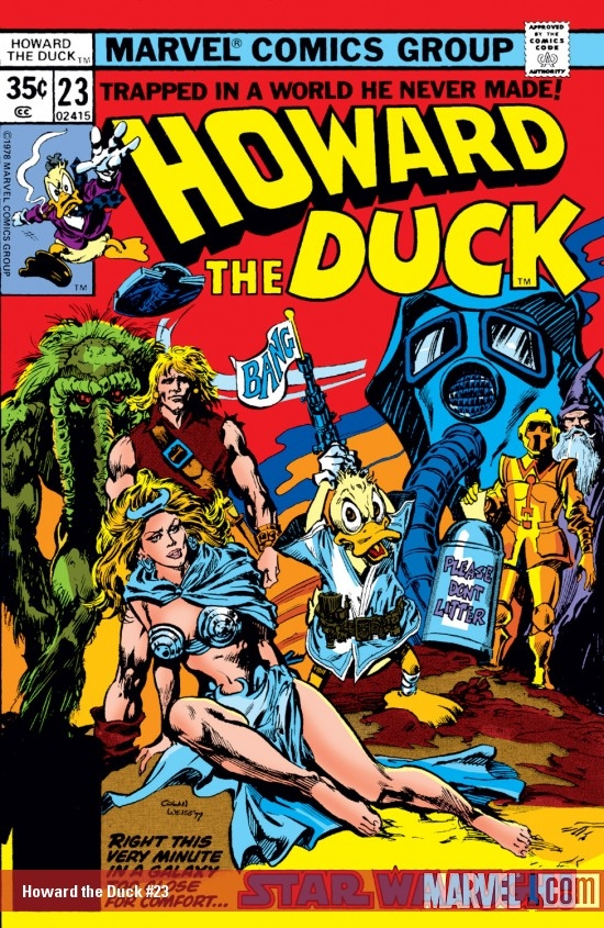 Howard the Duck #23
