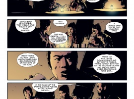 5 Ronin #3 preview art by Lawrence Campbell