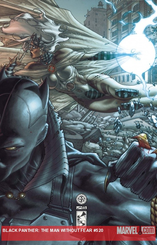 Black Panther: Man Without Fear #520