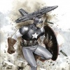 Captain America (2011) #1 variant cover by Olivier Coipel