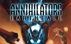 Annihilators: Earthfall (2011) #1 Cover