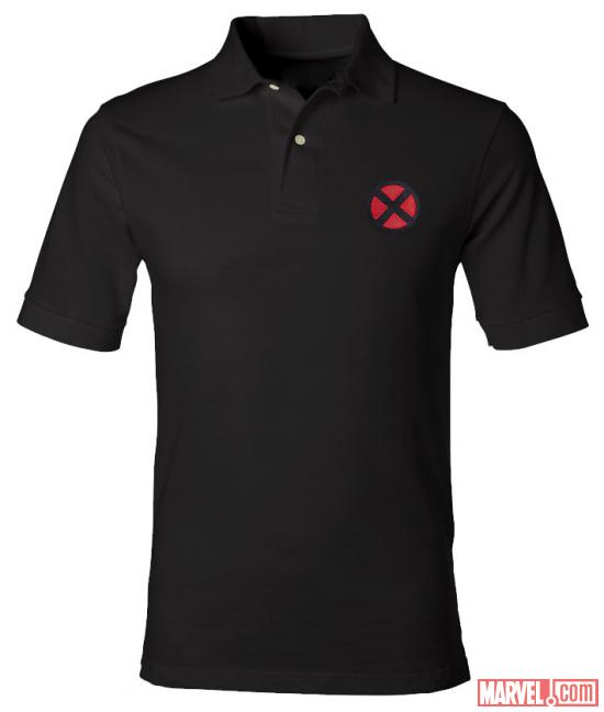 X-Men logo polo shirt from WeLoveFine