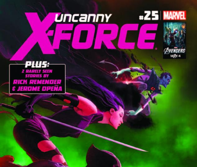 UNCANNY X-FORCE 25