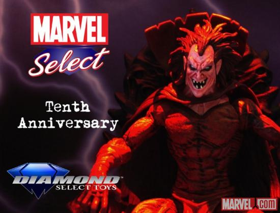 Marvel Select 10th Anniversary Mephisto Contest Image