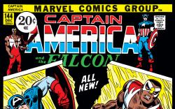 Captain America (1968) #144 Cover