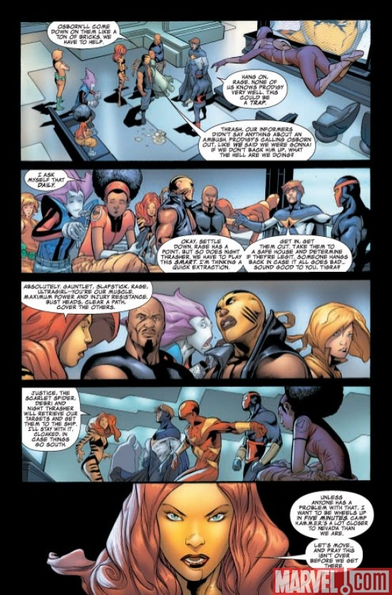 Avengers: The Initative #28 Preview page 5