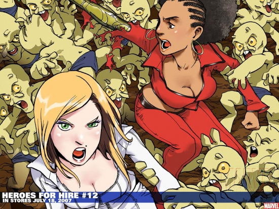 Heroes for Hire (2006) #12 Wallpaper