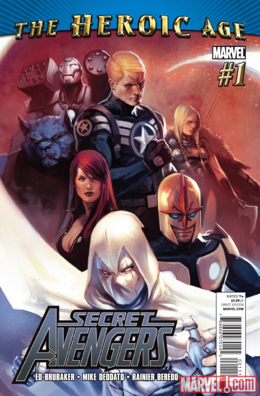 SECRET AVENGERS #1 cover by Marko Djurdjevic