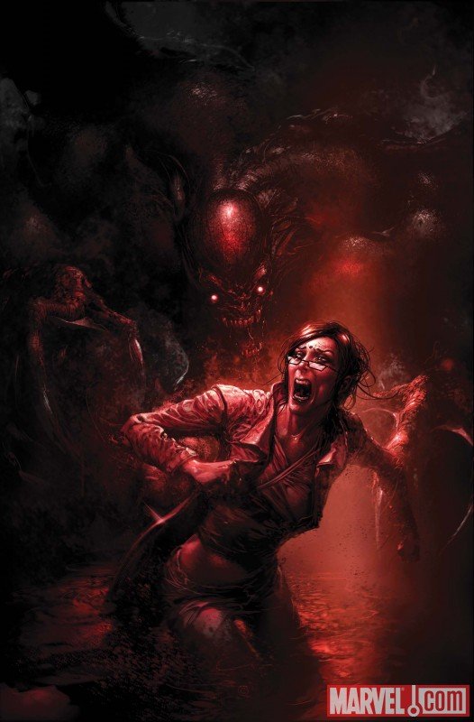 X-MEN: CURSE OF THE MUTANTS - SMOKE & BLOOD #1 cover by Clayton Crain