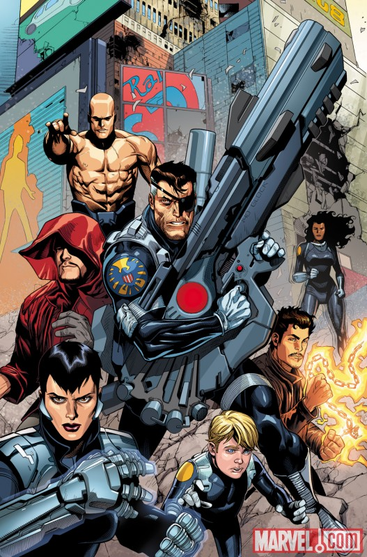 Image Featuring Nick Fury