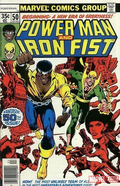 Power Man and Iron Fist #50 cover