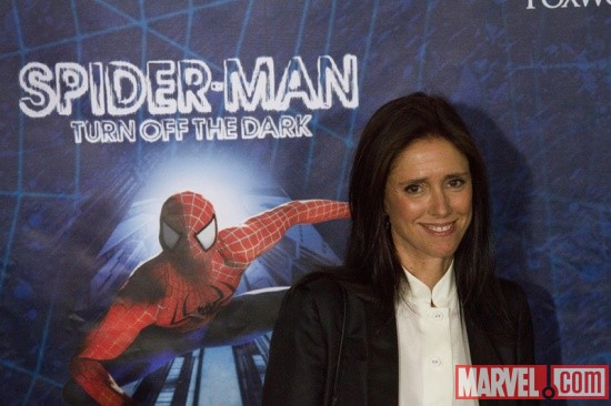 Julie Taymor at the Spider-Man: Turn Off the Dark Premiere