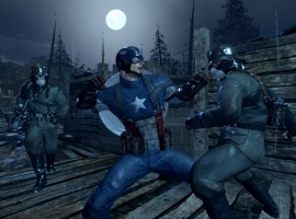Captain America: Super Soldier Screenshot of Trench
