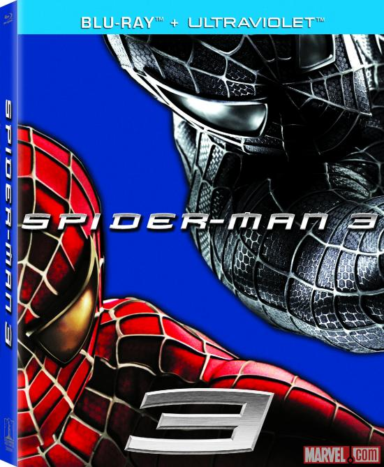 Spider-Man 3 Blu-ray box art