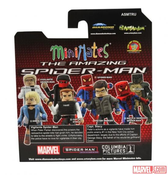 "Toys ""R"" Us Exclusive Amazing Spider-Man Diamond Select Minimates"
