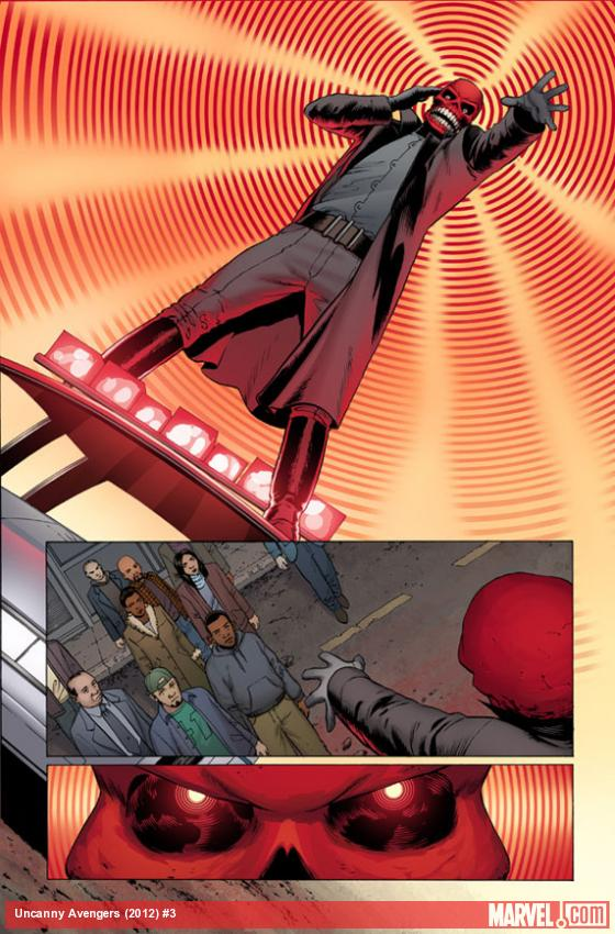 Uncanny Avengers #3 preview art by John Cassaday