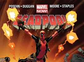 cover from Deadpool (2012) #4 (MOORE VARIANT)