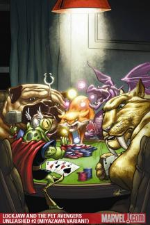 Lockjaw and the Pet Avengers Unleashed (2010) #2 (KURTZ VARIANT)