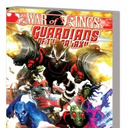 GUARDIANS OF THE GALAXY: WAR OF KINGS BOOK 1 TPB