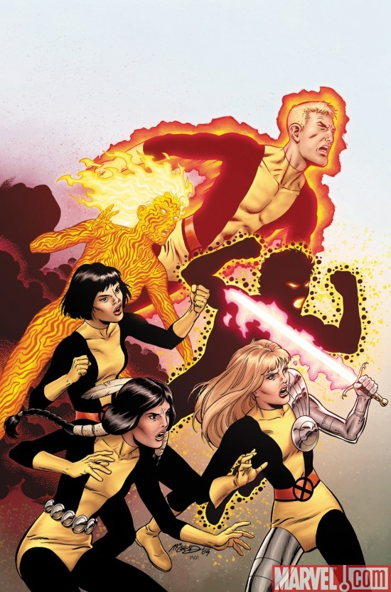 NEW MUTANTS #1 cover by Bob McLeod