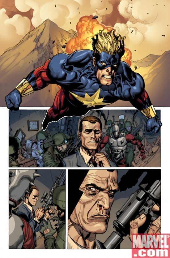 SECRET INVASION #5 interior art