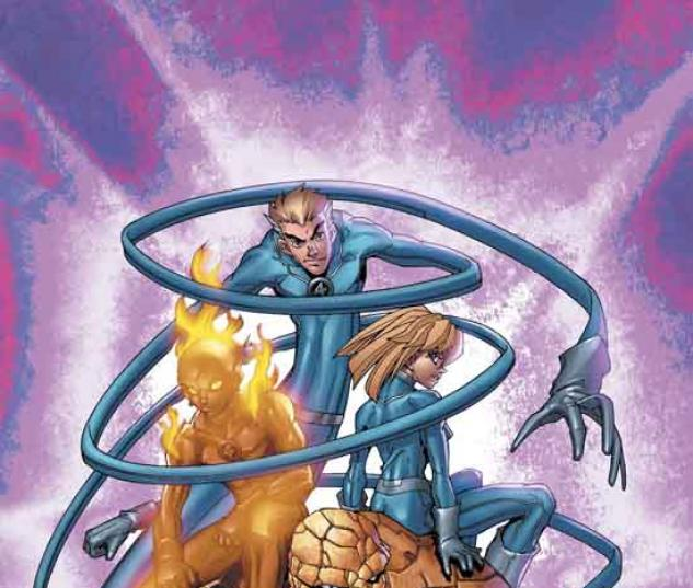 MARVEL AGE FANTASTIC FOUR (2004) #3 COVER