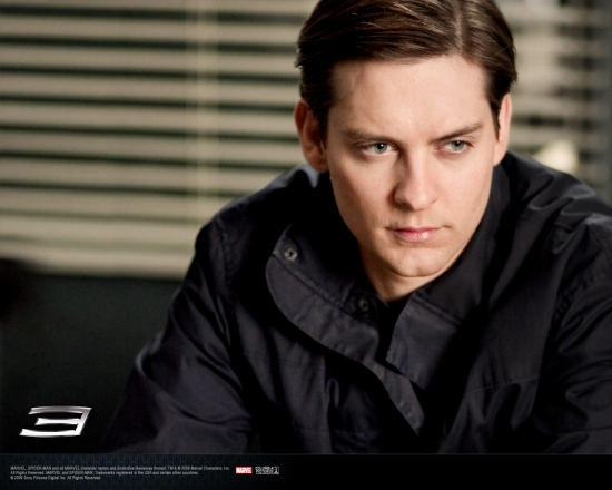Spider-Man 3 Movie: Peter Looking Serious