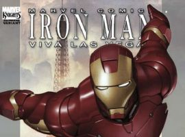 IRON MAN: VIVA LAS VEGAS #1 (of 4) SECOND PRINTING VARIANT