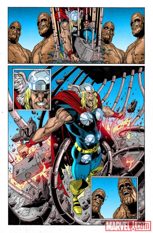 THOR: FIRST THUNDER #1 preview art by Tan Eng Huat 3