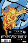 Fantastic Four (1998) #587 (2ND PRINTING VARIANT)