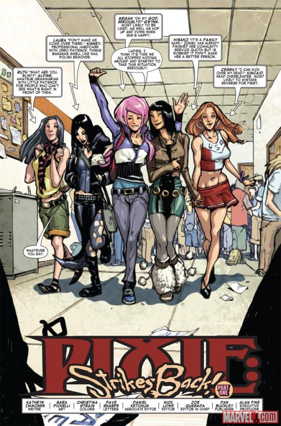 X-Men: Pixie Strikes Back #1