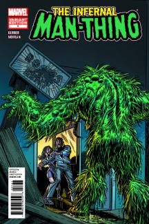 INFERNAL MAN-THING (2010) #1 (Kane Variant)