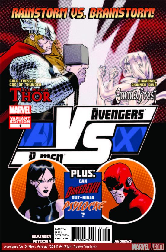 AVX: VS 4 FIGHT POSTER VARIANT (AVX, 1 FOR 20, WITH DIGITAL CODE)