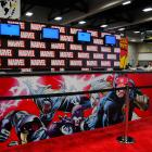 SDCC 2012: Marvel Booth Set-Up