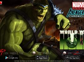 Marvel Pinball: World War Hulk now available on mobile devices