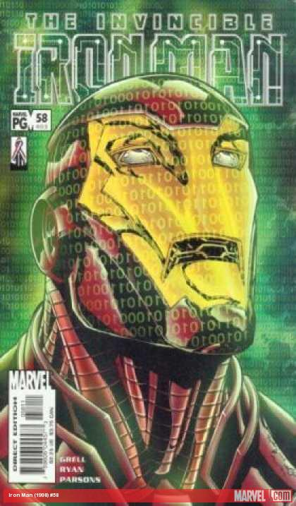 Iron Man (1998) #58 cover