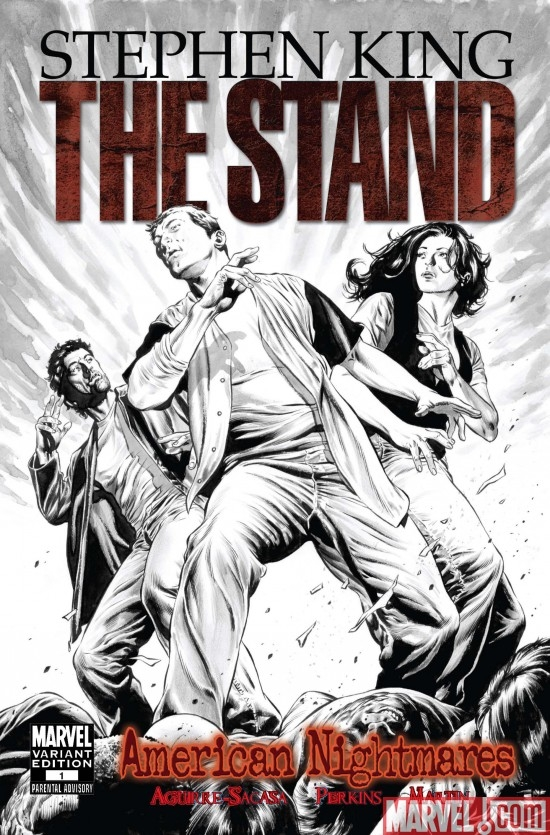 THE STAND: AMERICAN NIGHTMARES #1 Perkins Sketch Variant Cover