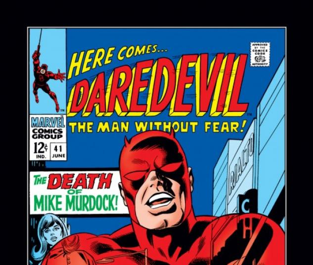 DAREDEVIL #41 COVER