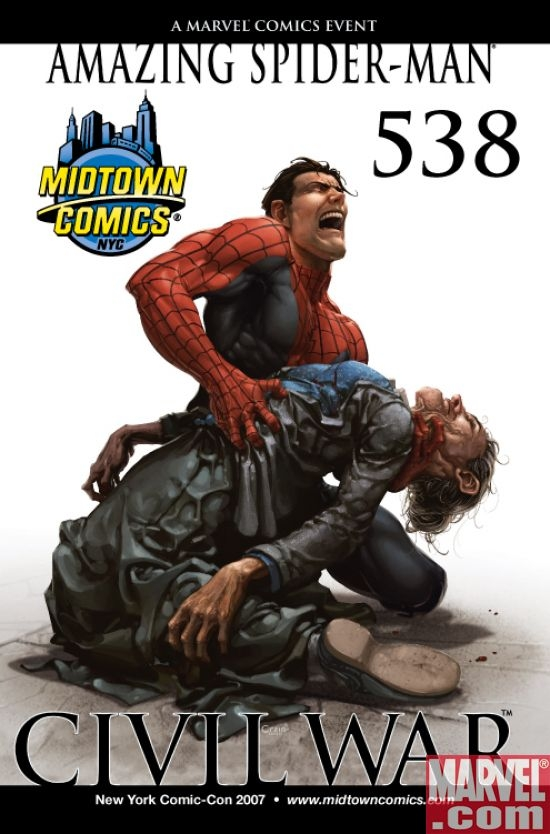 Amazing Spider-Man #538 (NYCC var.)