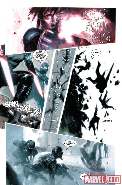 X-Force: Sex and Violence #2 preview art by Gabriele Dell'Otto