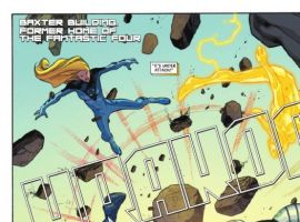Image Featuring Fantastic Four (Ultimate), Human Torch (Ultimate), Invisible Woman (Ultimate)