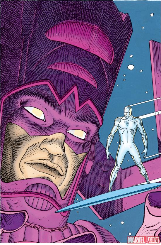 Silver Surfer: Parable cover by Moebius