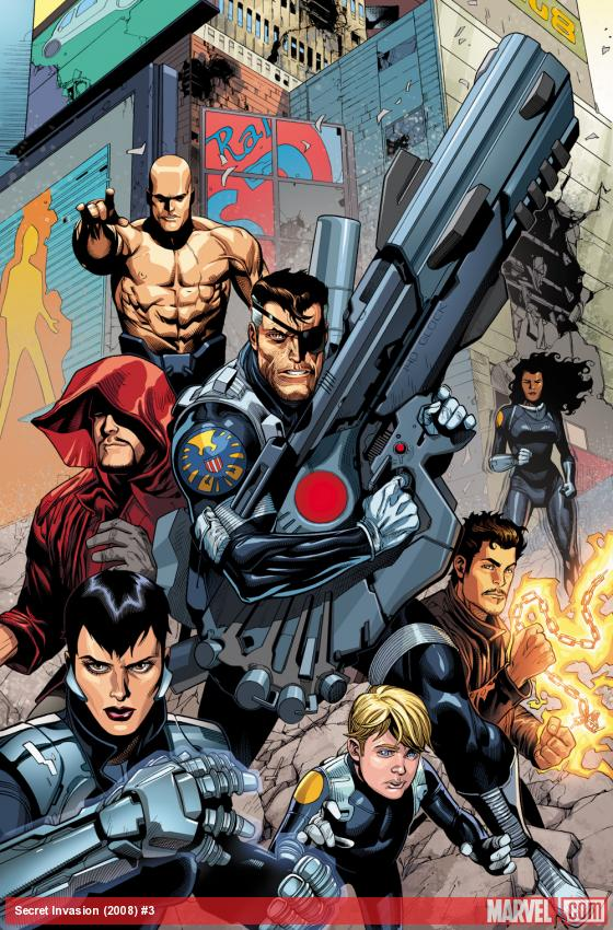 Nick Fury and his Secret Warriors