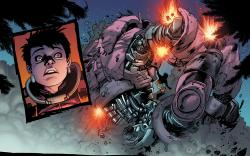 Avengers Arena #3 preview art by Kev Walker
